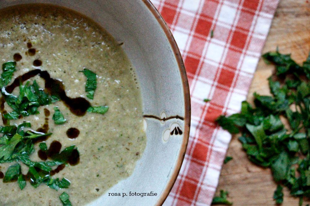 geschmorte champignonssuppe 2