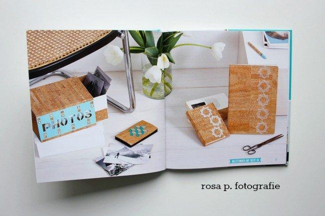 dekorative ideen aus kork papier rosa p. Black Bedroom Furniture Sets. Home Design Ideas