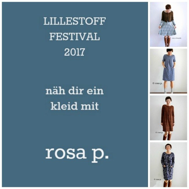 das lillestoff festival 2017 n h dir ein kleid mit rosa p rosa p. Black Bedroom Furniture Sets. Home Design Ideas