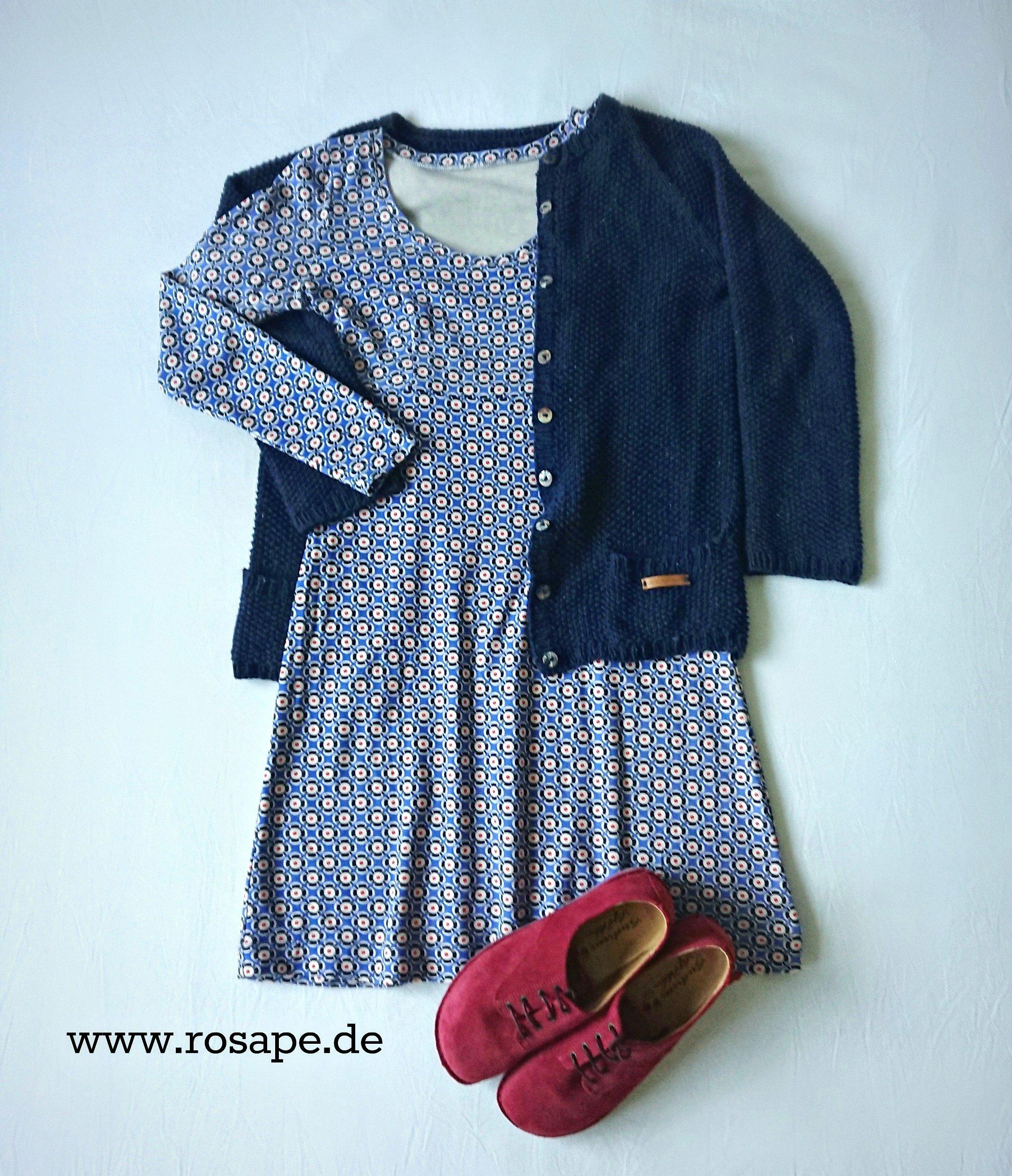 Kleid mit jacke 46