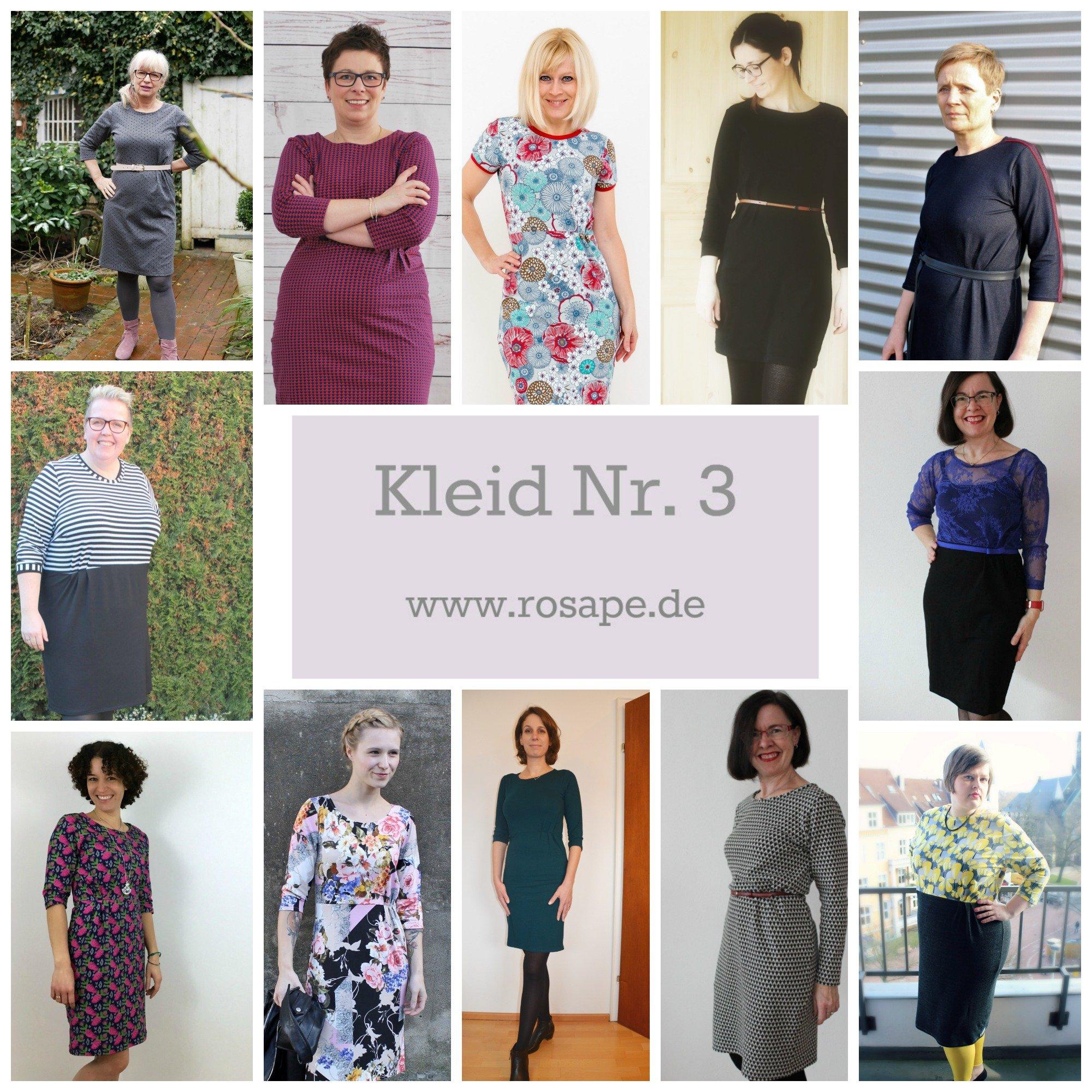 Neues rosa p. Schnittmuster: Kleid Nr. 3 und Kleid Nr. 3 PLUS ...