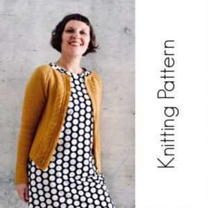 Knitting Pattern / English